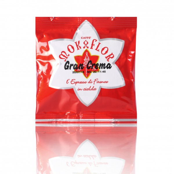 Mokaflor Gran Crema 1x 150 ESE-Pads je 7 g gemahlen