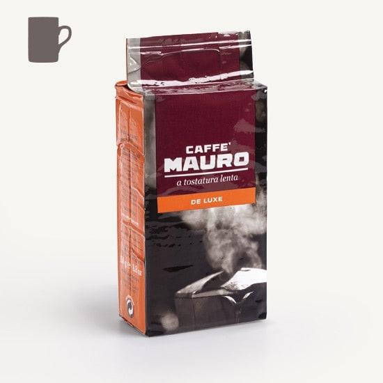 CAFFÈ MAURO Deluxe 20x 250 g Kaffee gemahlen im Beutel