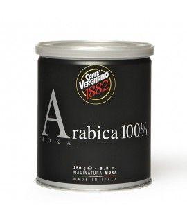 Caffè Vergnano 100% Arabica MOKA 12x 250 g gemahlen, Dosen