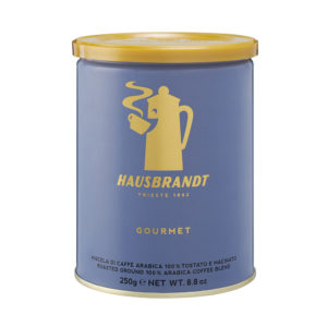 HAUSBRANDT Caffé Gourmet 12x 250 g gemahlen in Dosen