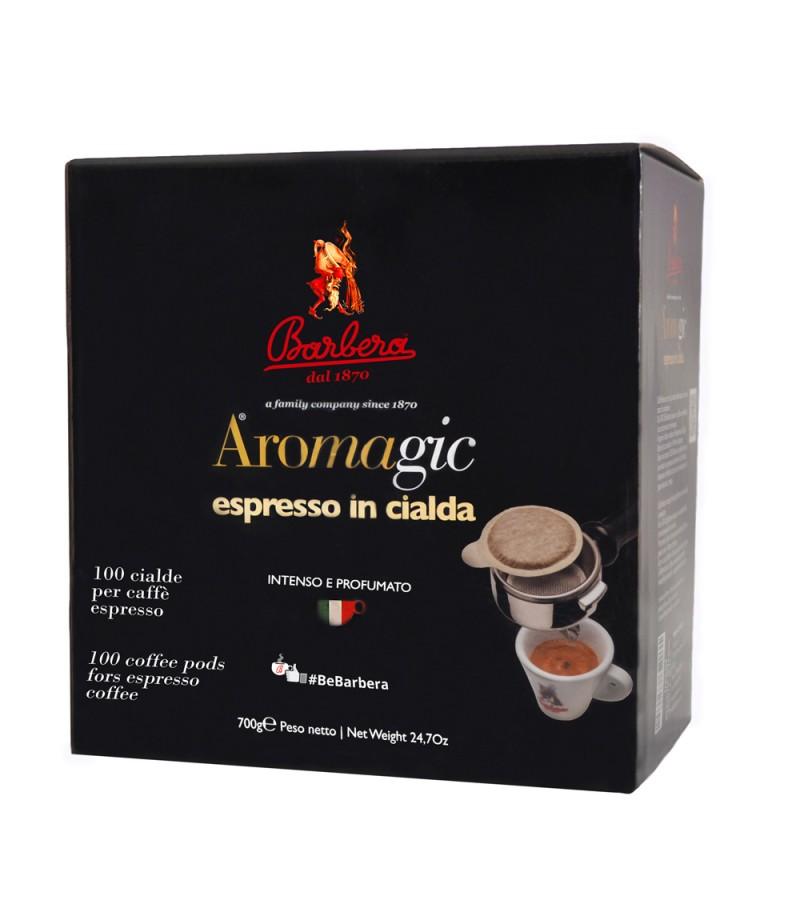 Barbera Caffè AroMagic 1x 150 ESE Pads je 7 g gemahlen