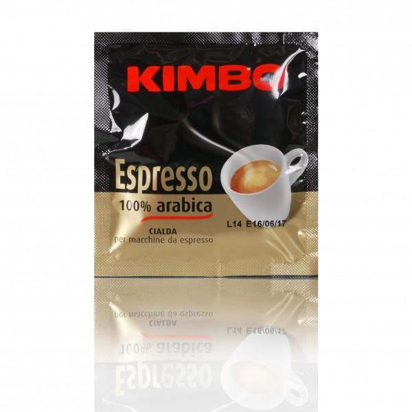 KIMBO Espresso 100% Arabica 8x 18 ESE-Pads je 7 g gemahlen