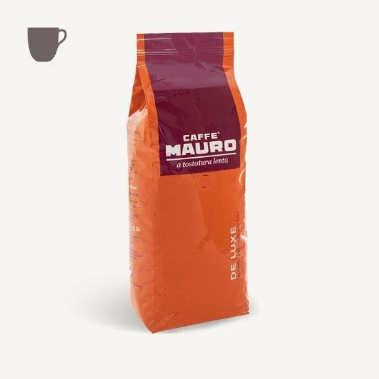 CAFFÈ MAURO Deluxe 6x 1 KG Bohnen im Beutel