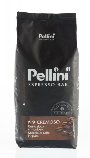 PELLINI N°9 Cremoso 6 X 1 KG Bohnen im Beutel