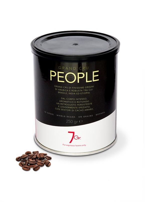 7 GR. PEOPLE COFFEE Grand Cru 12 X 250 g Bohnen in der Dose