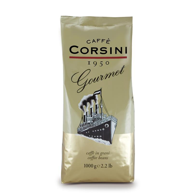 Caffè Corsini Gourmet 8x 1 KG Bohnen im Beutel
