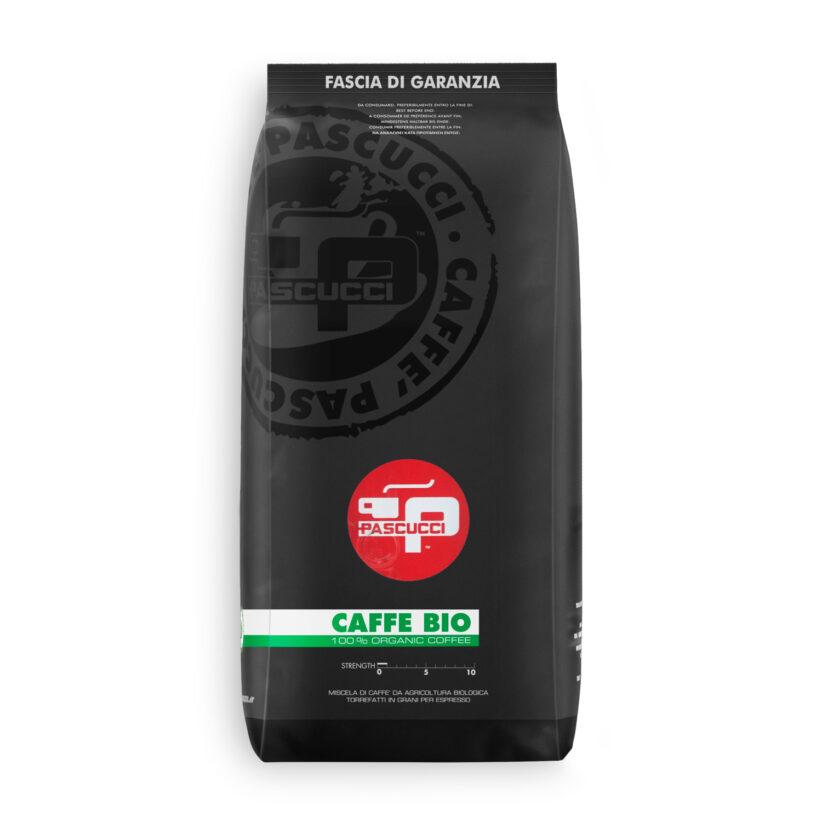 PASCUCCI Caffè BIO DE-ÖKO-037 8 X 1 KG Bohnen im Beutel
