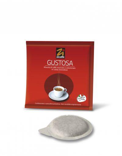 Zicaffè Gustosa 1x 50 ESE-Pads je 7 g gemahlen