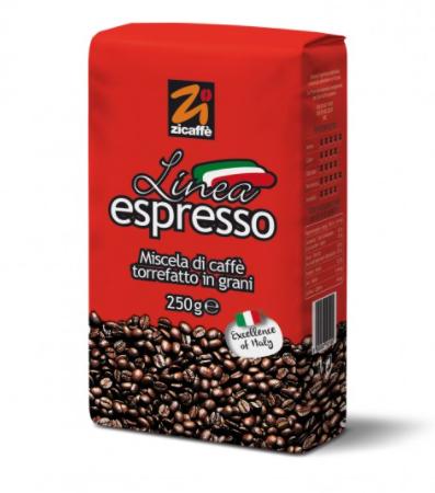 Zicaffè Linea Espresso 12x 250 g Bohnen im Beutel
