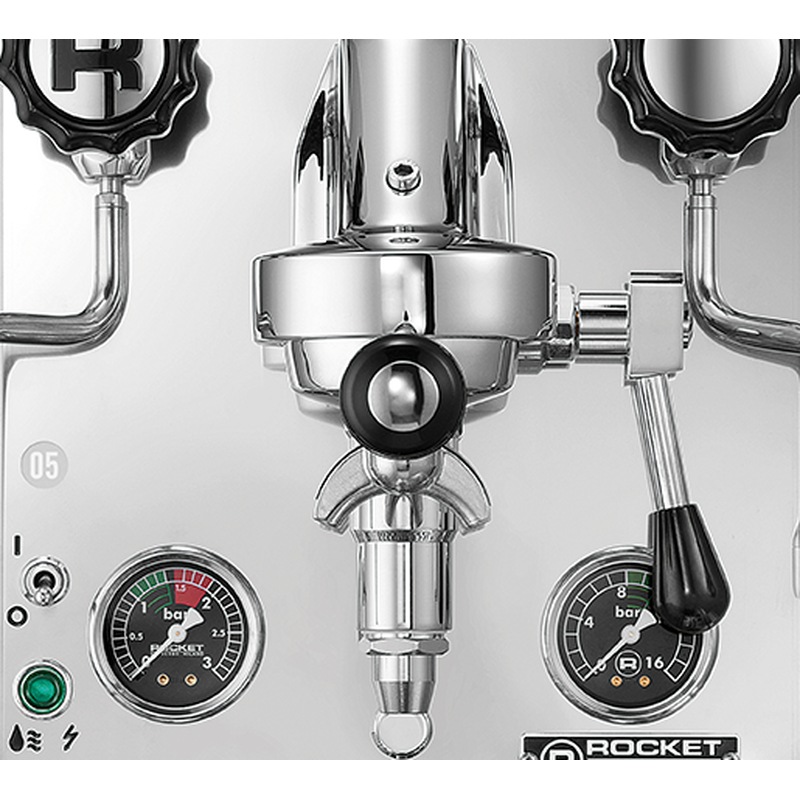 Rocket Espresso Mozzafiato Cronometro R Schwarz Espressomaschine