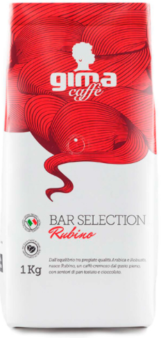 GIMA Rubino 12 X 1 KG Bohnen im Beutel