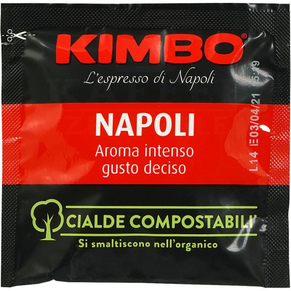 KIMBO Espresso Napoli 12x 18 ESE-Pads je 7 g gemahlen