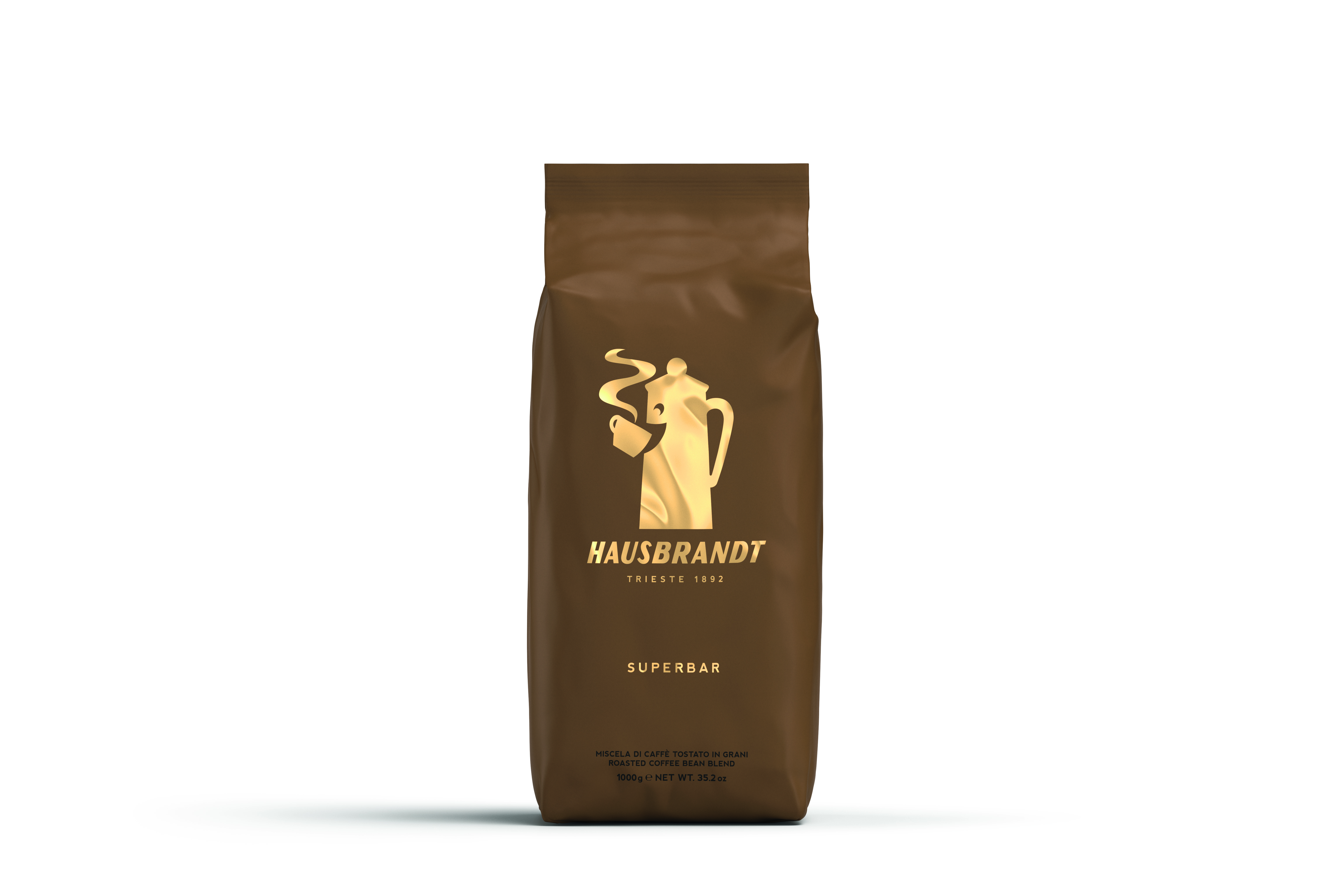 HAUSBRANDT Caffé Superbar 6 X 1 KG Bohnen im Beutel