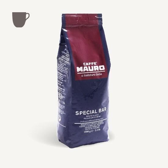CAFFÈ MAURO Special Bar dark roast 6x 1 KG Bohnen im Beutel