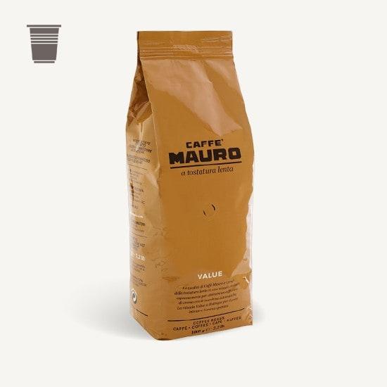 CAFFÈ MAURO Value 6x 1 KG Bohnen im Beutel