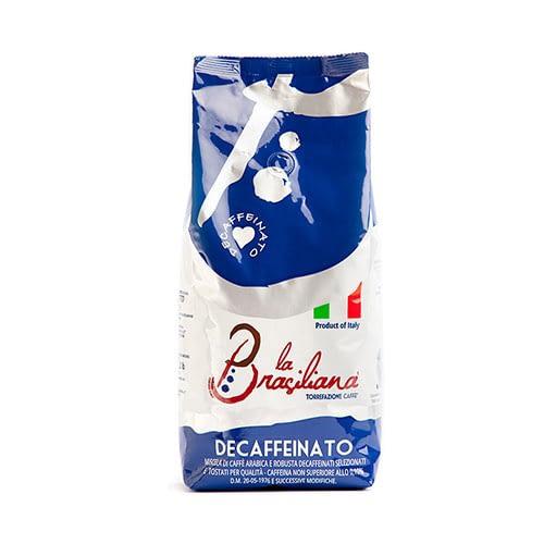 La Brasiliana Decaffèinato (entkoffeiniert) 6 X 1 KG Bohnen im Beutel
