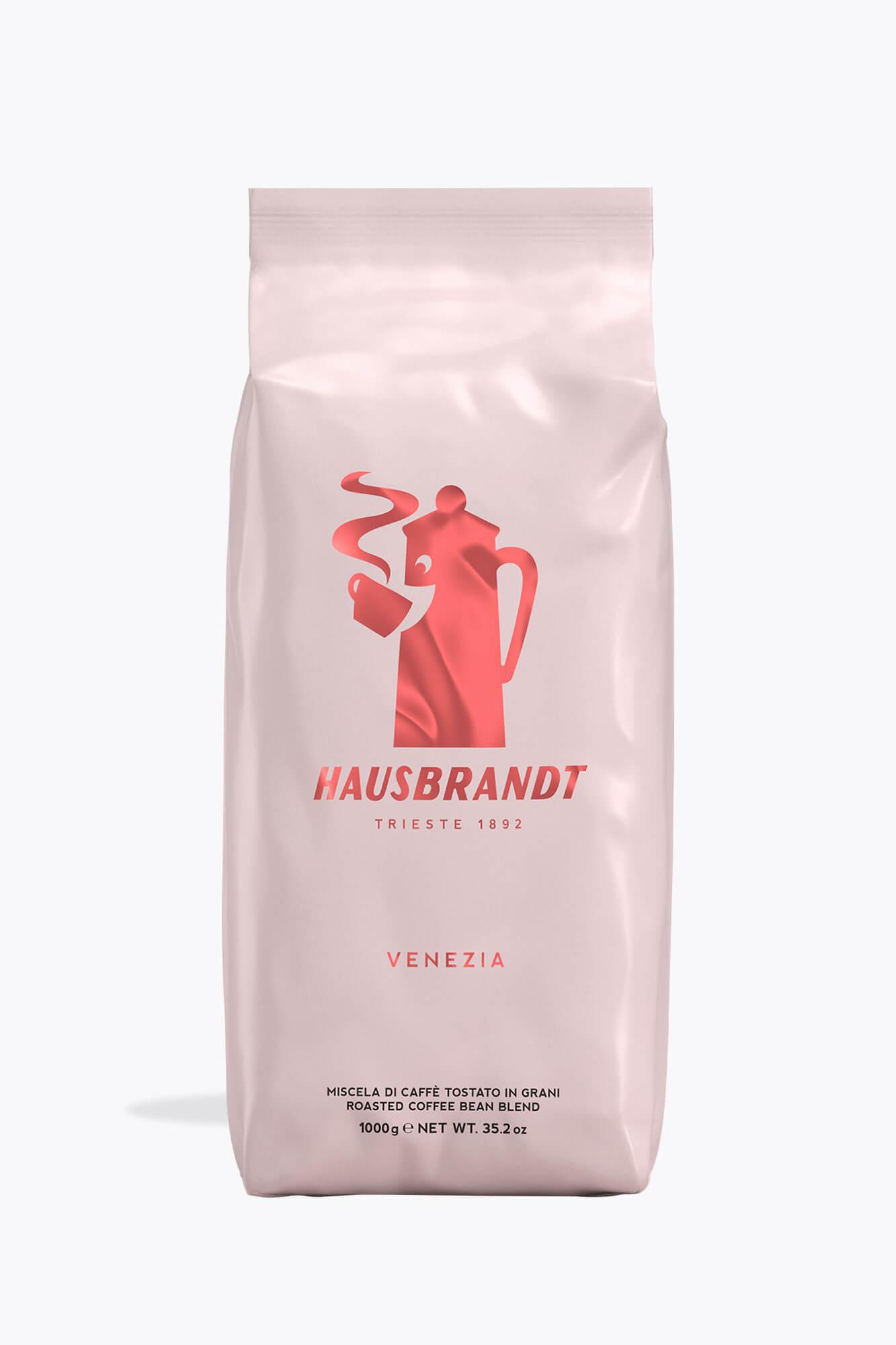 HAUSBRANDT Caffé Venezia 6 X 1 KG Bohnen im Beutel
