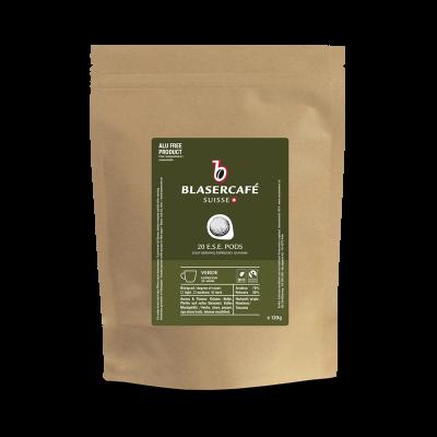 Blasercafé Verde BIO Fairtrade DE-ÖKO-037 6x 20 ESE-Pads je 6,95 g gemahlen