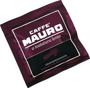 CAFFÈ MAURO Centopercento 1x 150 ESE-Pads je 6,7 g gemahlen