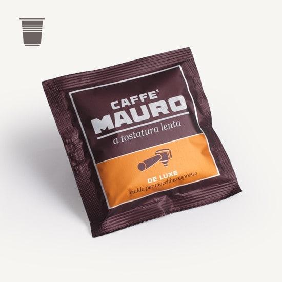 CAFFÈ MAURO Deluxe 1x 150 ESE-Pads je 6,7 g gemahlen