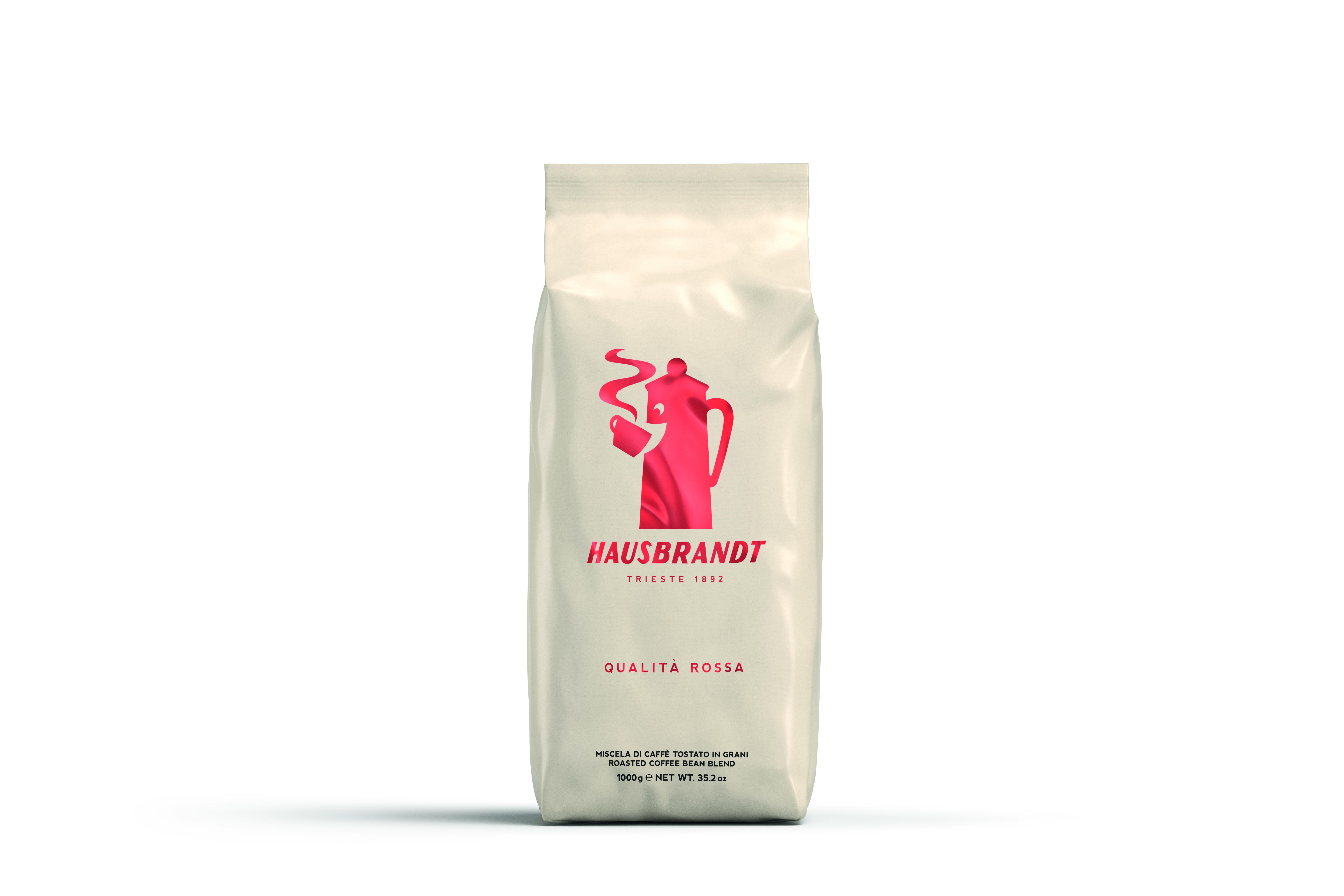 HAUSBRANDT Caffé Rossa 6 X 1 KG Bohnen im Beutel