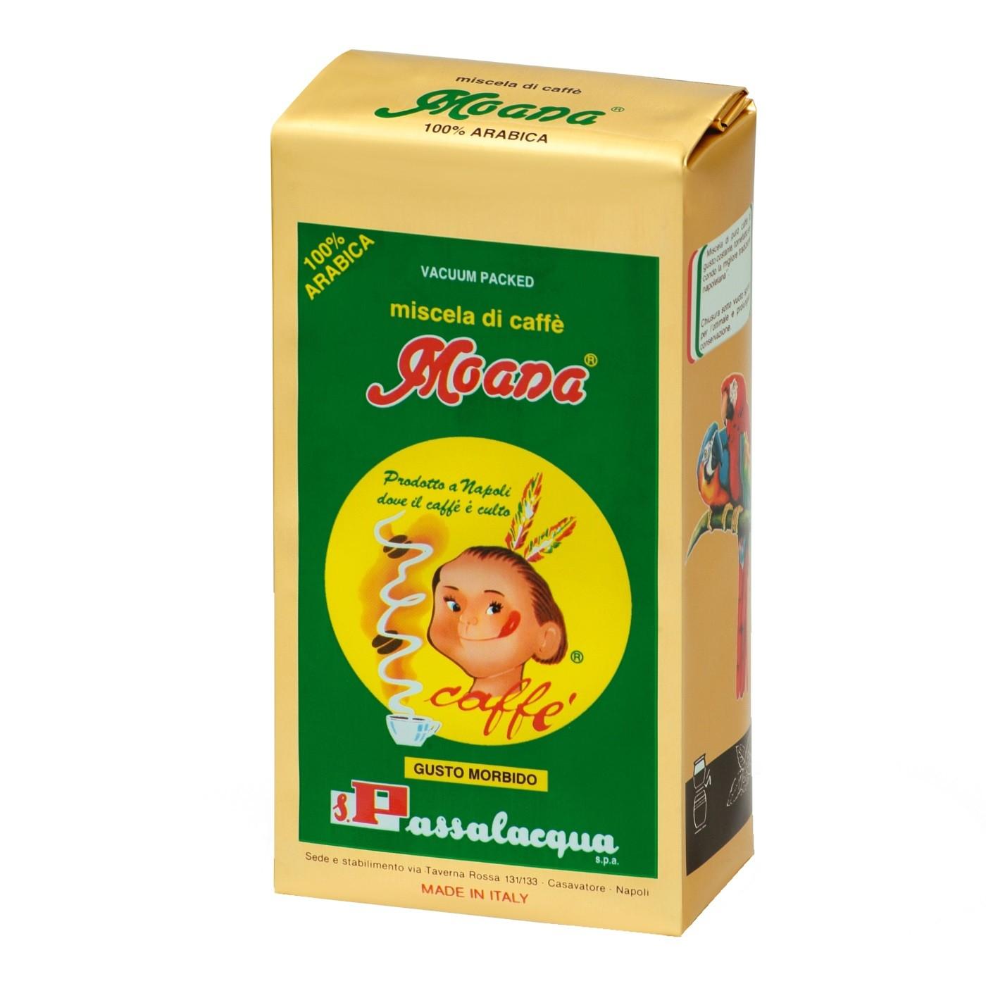 PASSALACQUA Moana 12x 250 g gemahlen und vakuumiert