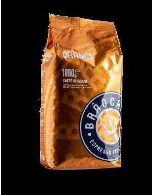 Brao Caffé ORANGE 6 X 1 KG Bohnen im Beutel