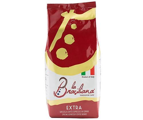 La Brasiliana EXTRA 6 X 1 KG Bohnen im Beutel