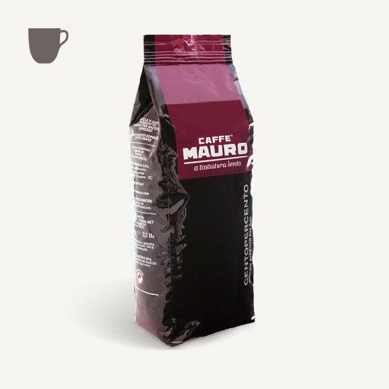 CAFFÈ MAURO Centopercento 6x 1 KG Bohnen im Beutel