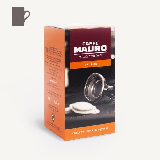 CAFFÈ MAURO Deluxe 8x 18 ESE-Pads je 6,7 g gemahlen