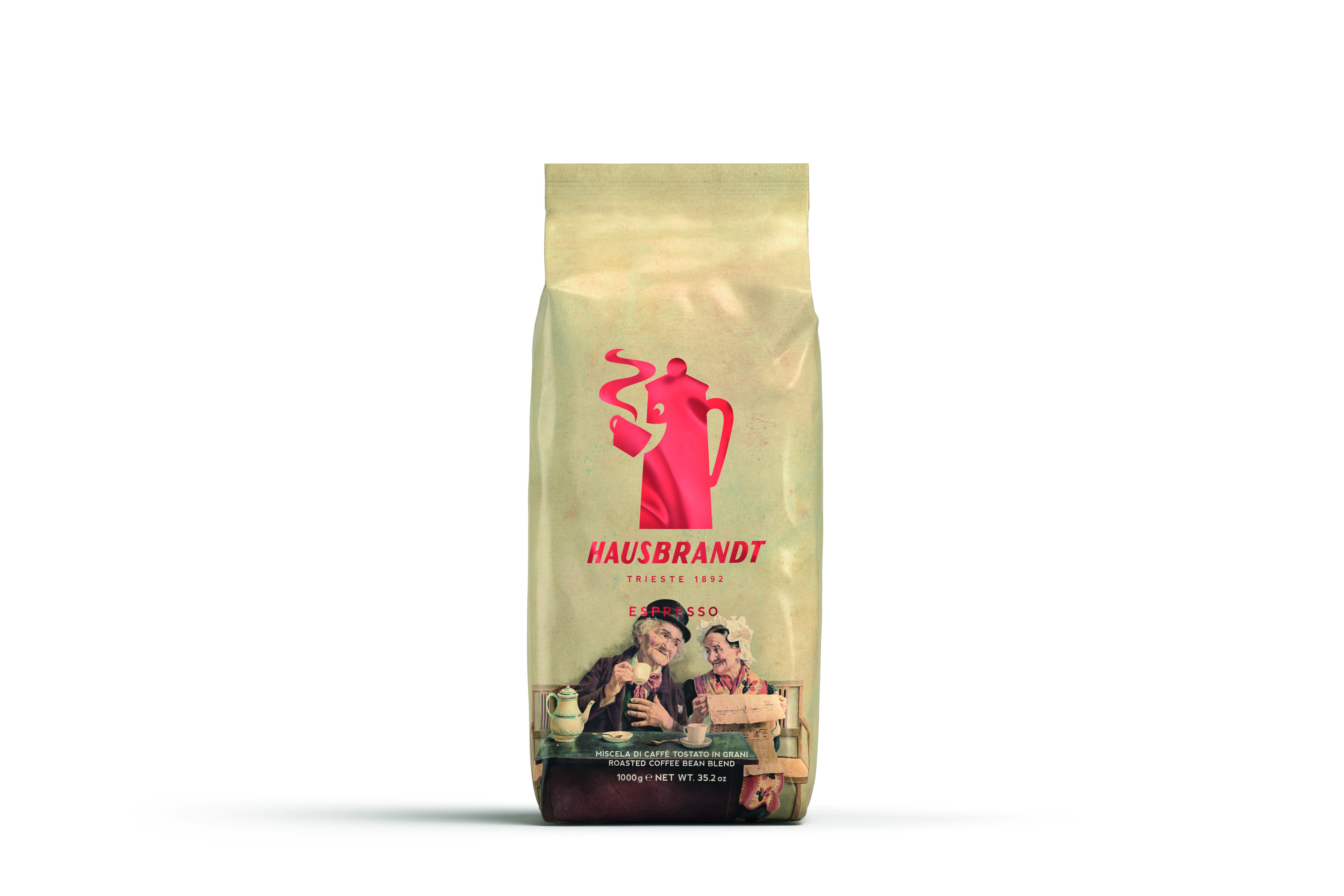 HAUSBRANDT Caffé Nonnetti 6 X 1 KG Bohnen im Beutel