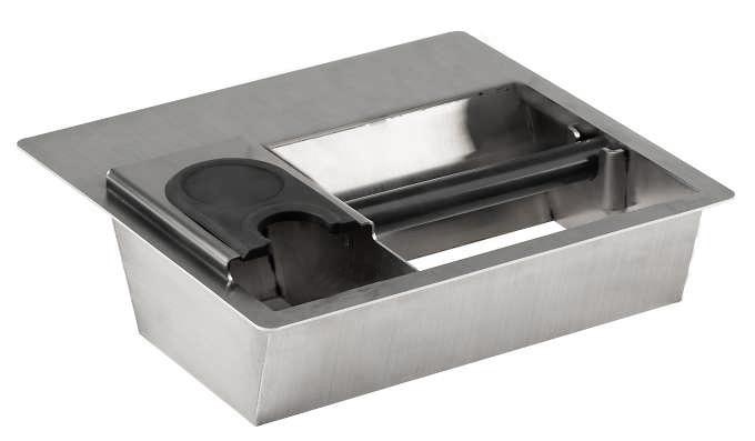 Abschlagbehälter Counter Top Combi