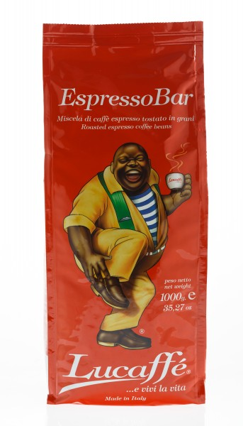 Lucaffé Espresso Bar 12 X 1 KG Bohnen im Beutel