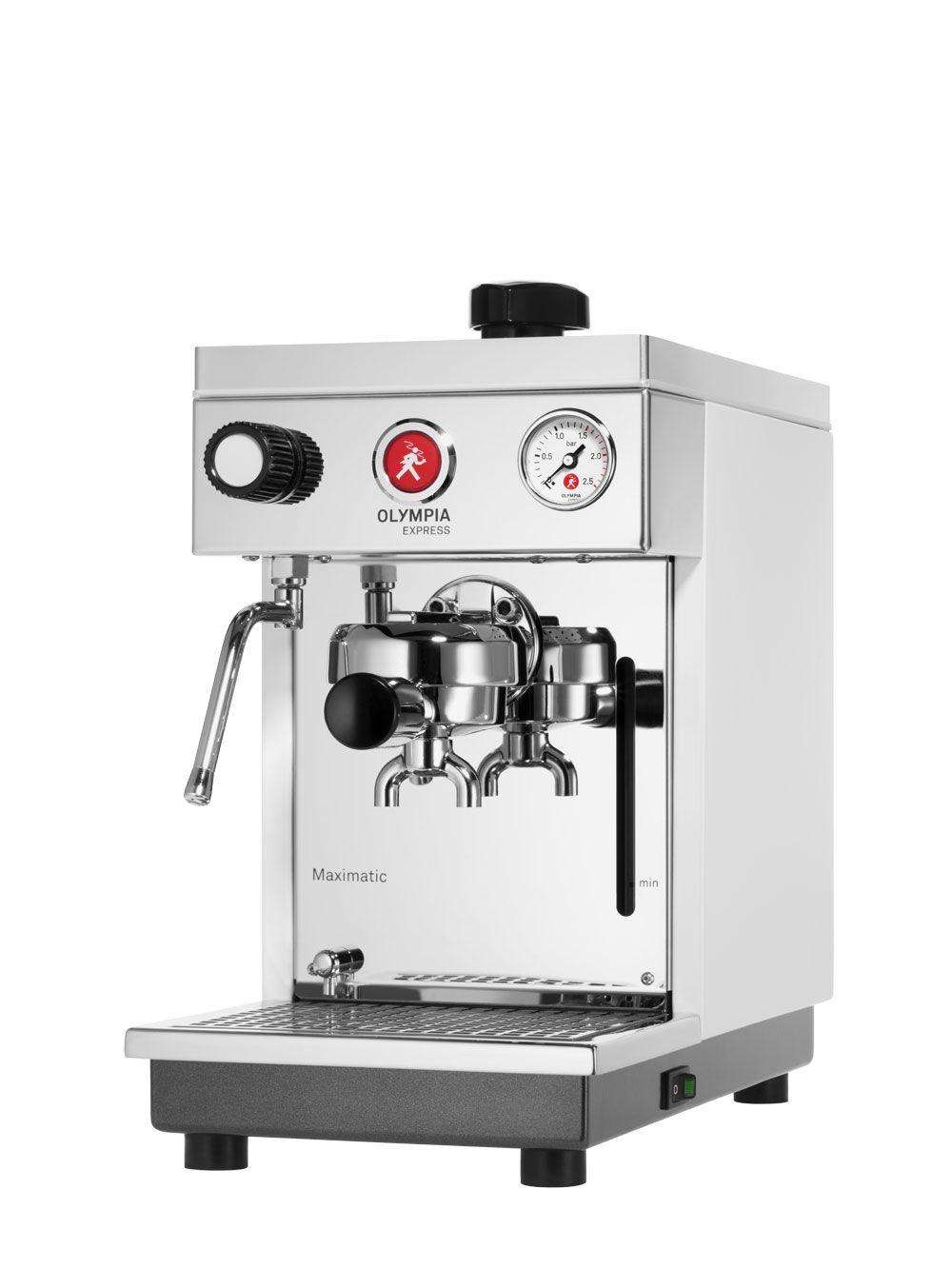 Olympia Express Maximatic Rot Espressomaschine