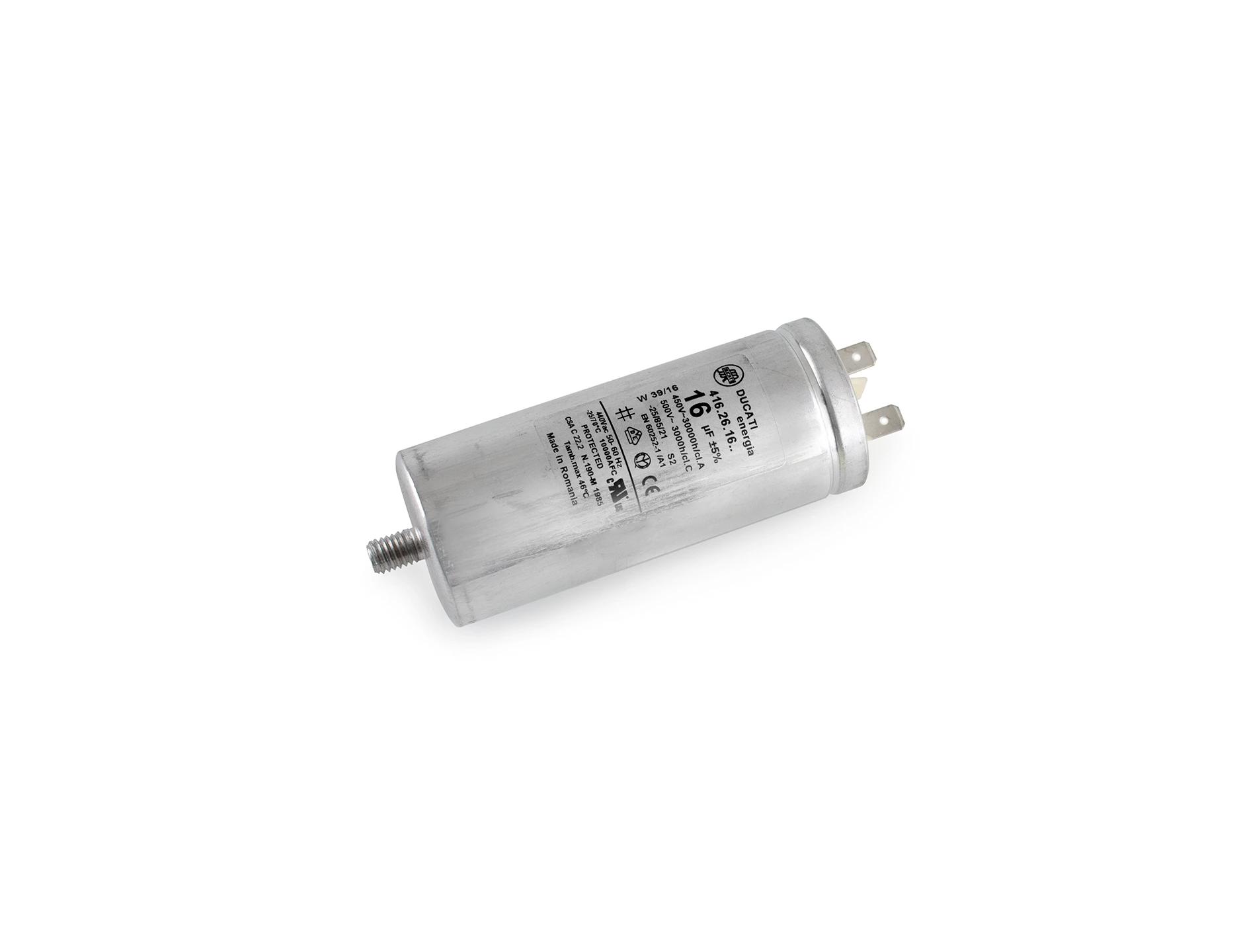 Kondensator 16µF 440 V AC