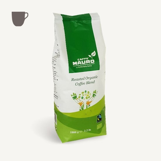 CAFFÈ MAURO 100% Arabica BIO FAIRTRADE DE-ÖKO-037 6x 1 KG Bohnen im Beutel
