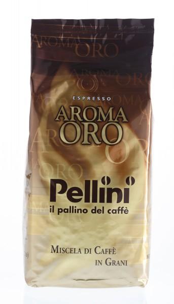 PELLINI Aroma Oro 6 X 1 KG Bohnen im Beutel