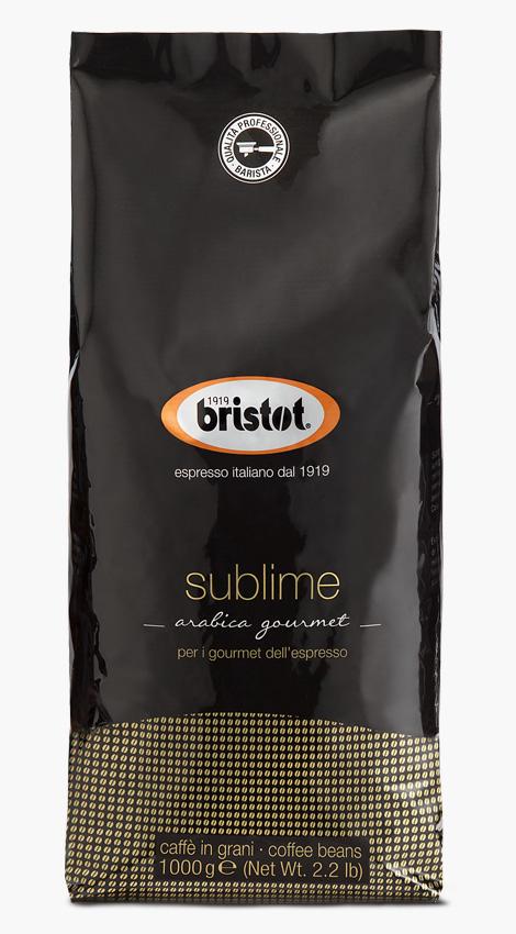 Bristot Sublime 6 X 1KG  Bohnen im Beutel