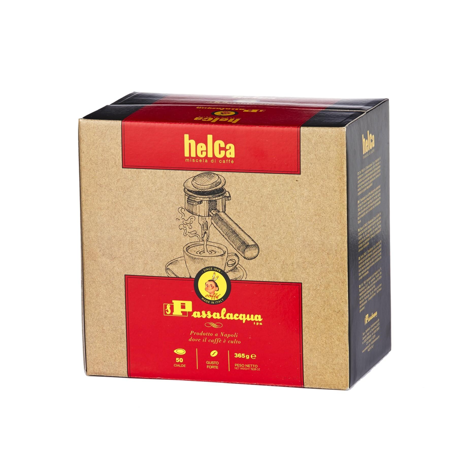 PASSALACQUA Helca 4x 50 ESE-Pads je 7,3 g gemahlen