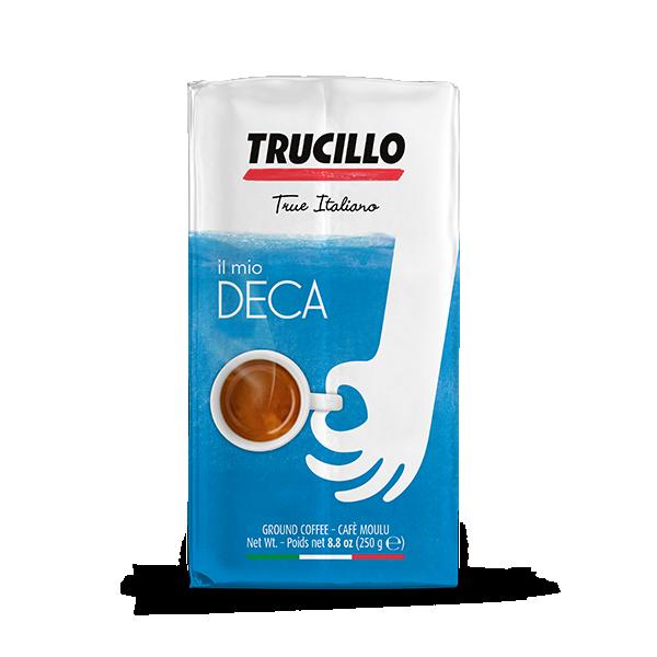 TRUCILLO Il mio caffé DECA (entkoffeiniert) 12 X 250 g Kaffee gemahlen