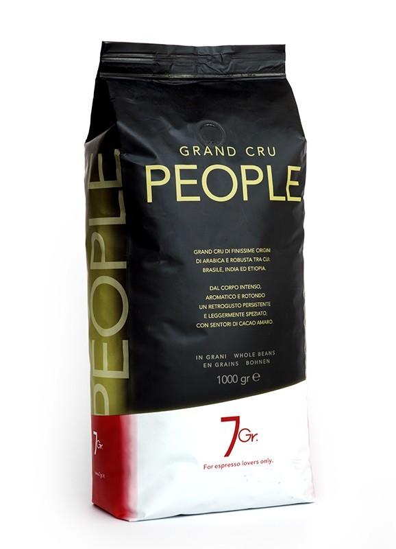 7 GR. PEOPLE COFFEE Grand Cru 6 X 1 KG Bohnen im Beutel