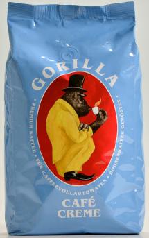 GORILLA Café Creme 12 X 1 KG Bohnen im Beutel
