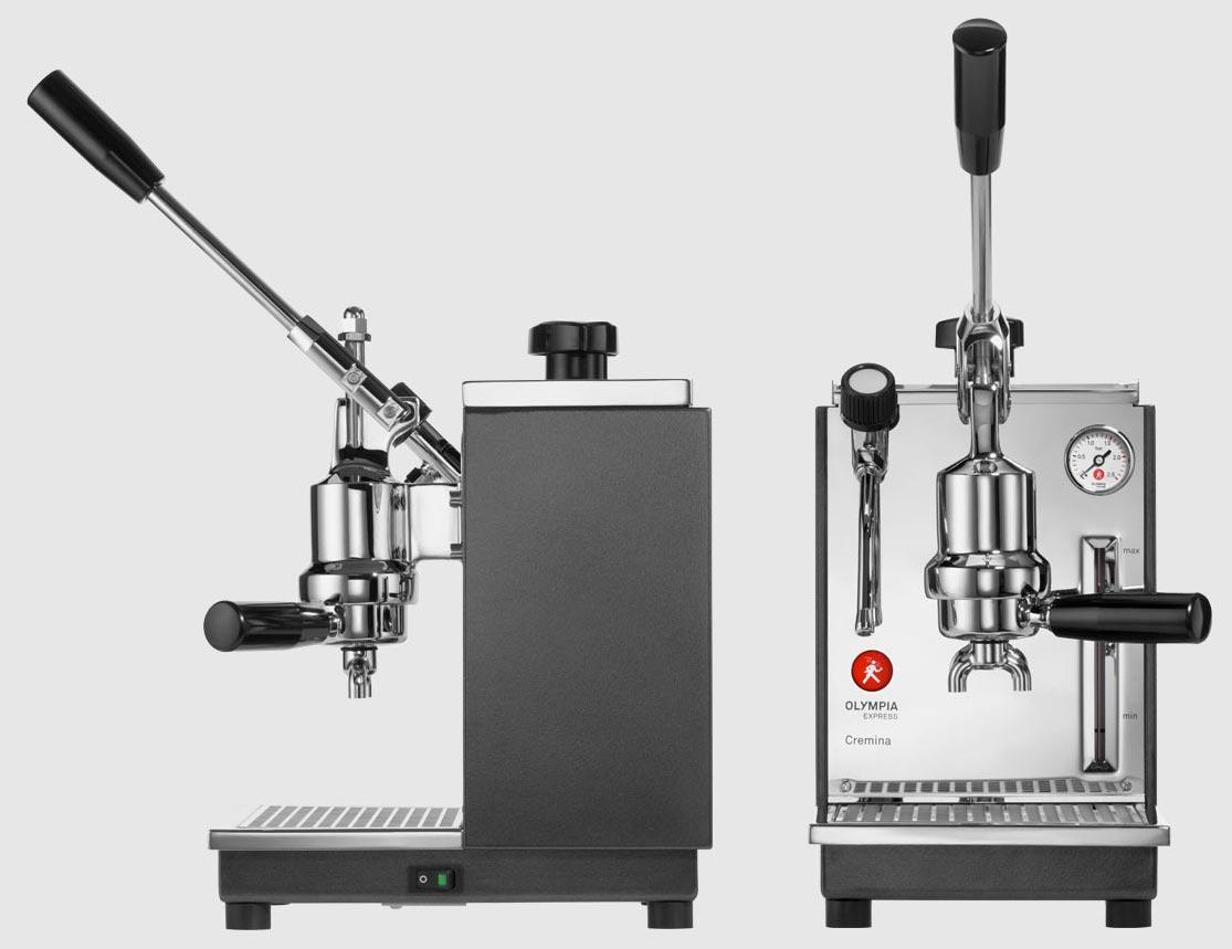 Olympia Express Cremina Rot Espressomaschine