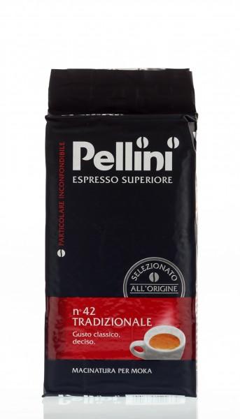 PELLINI N°42 Tradizionale 20x 250 g gemahlen und vakuumiert