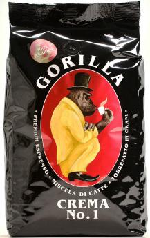 GORILLA Espresso Crema No.1 12 X 1 KG Bohnen im Beutel