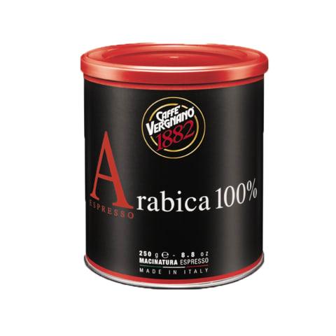 Caffè Vergnano Espresso 100% Arabica 12x 250 g gemahlen, Dosen