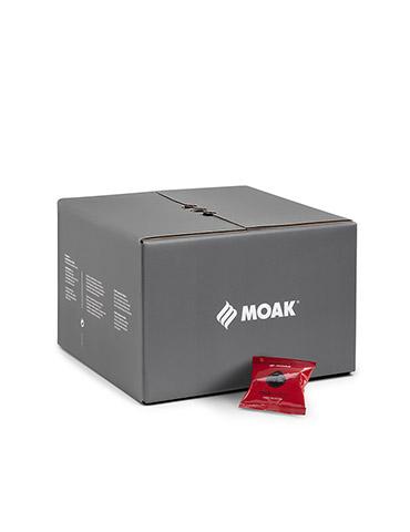 MOAK Rock 1x 50 ESE-Pads je 7 g gemahlen