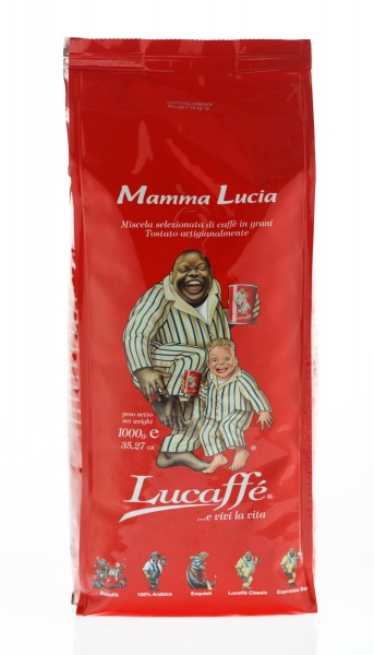 Lucaffé Mamma Lucia 12 X 1 KG Bohnen im Beutel