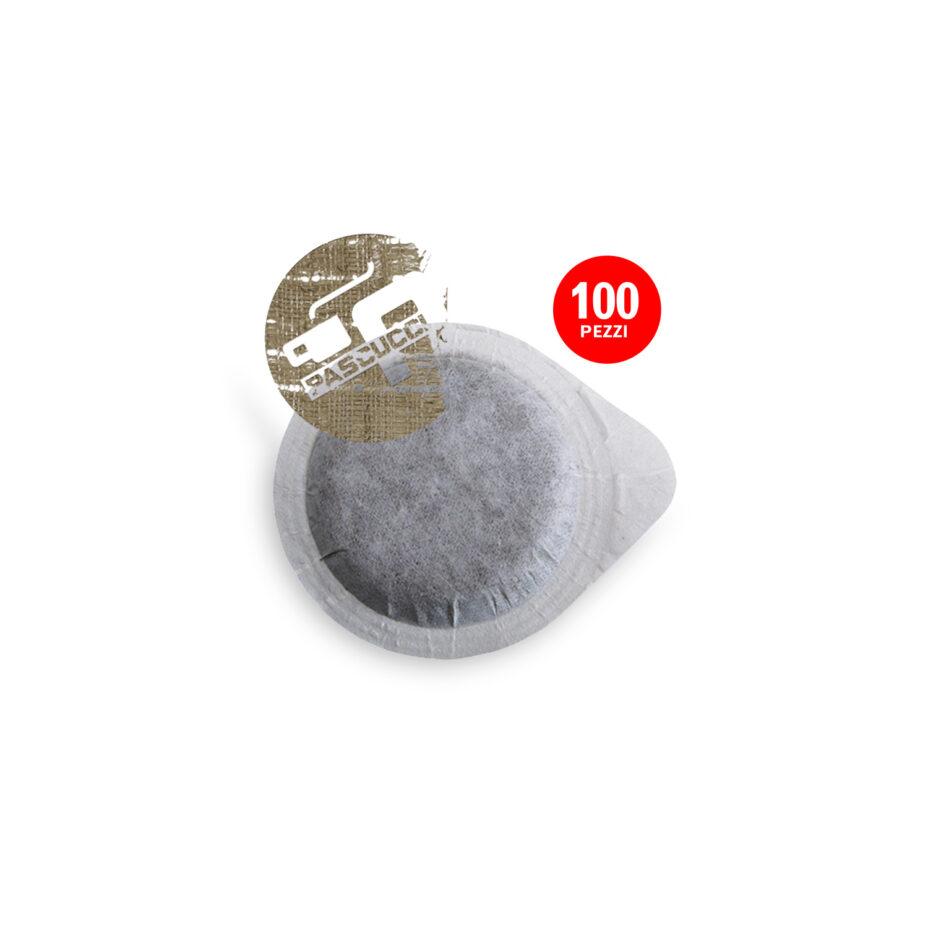 PASCUCCI Caffè BIO DE-ÖKO-037 1x 100 ESE-Pads je 7 g gemahlen