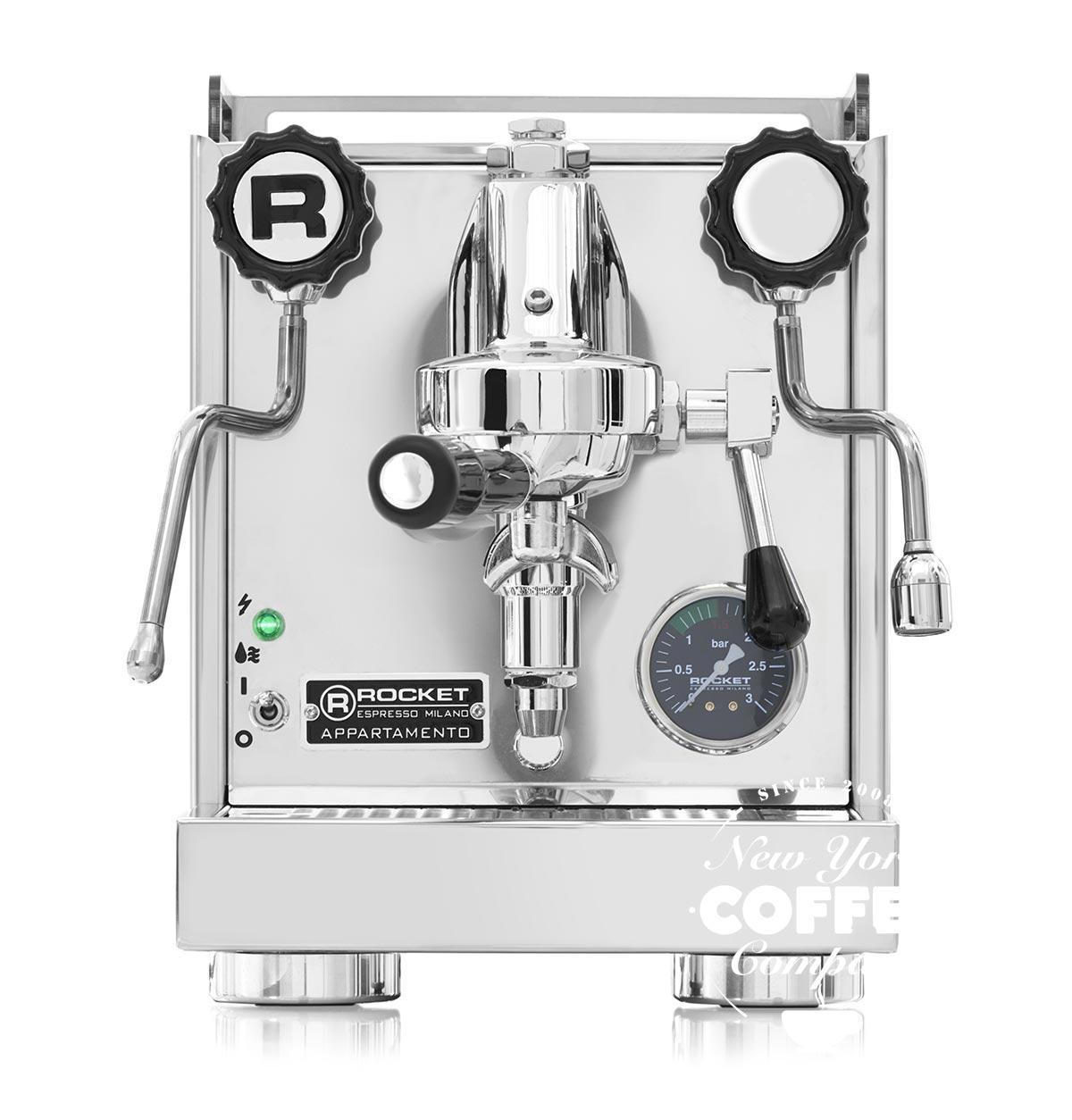 Rocket Appartamento Espressomaschine Schwarz
